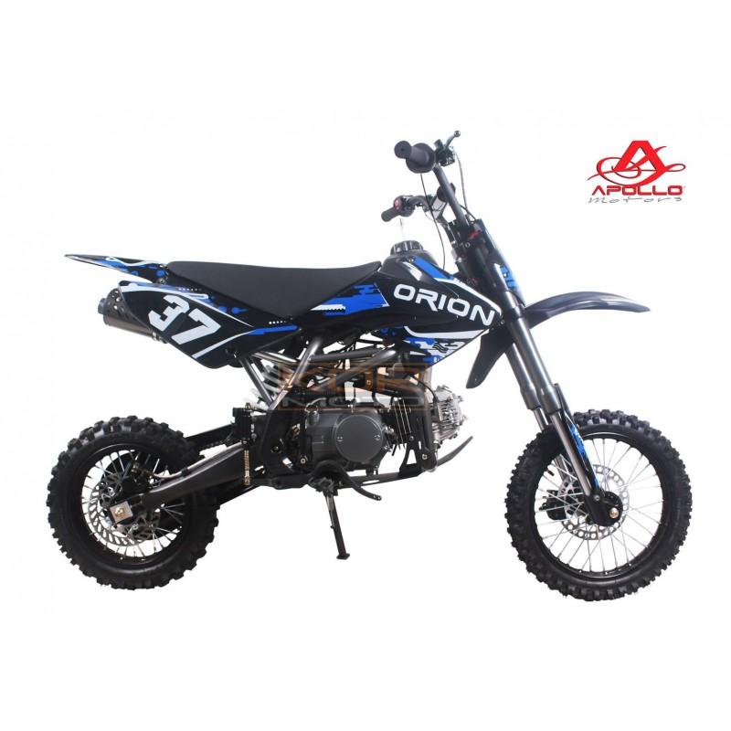 dirt bike apollo orion agb 37 125cc petite roue 14 12 crf114. Black Bedroom Furniture Sets. Home Design Ideas