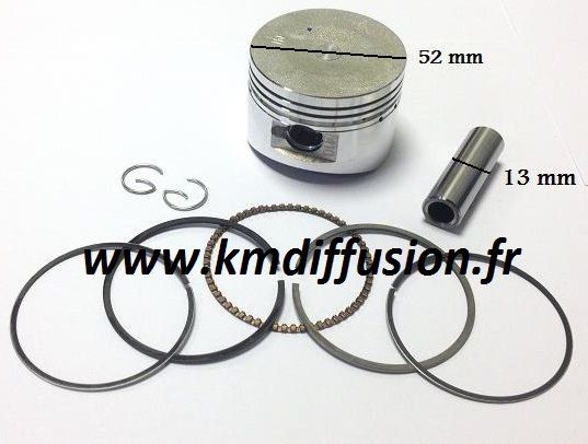 Kit Piston Dirt Bike 125 Agb37 Apollo Orion Crf1 Crf2 52mm Kpistf1