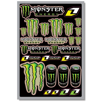 STICKERS MONSTER ENERGY 1