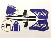 KIT DECO STICKERS YAMAHA PW80 PIWI 80, image N°1